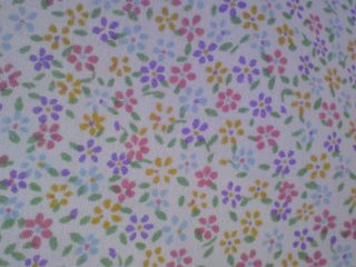 Sheet with flowers