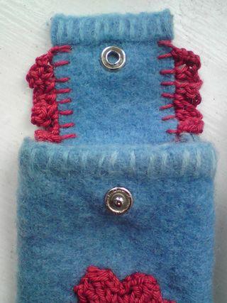 Popper and blanket stitch