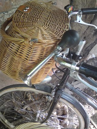 Basket and horn