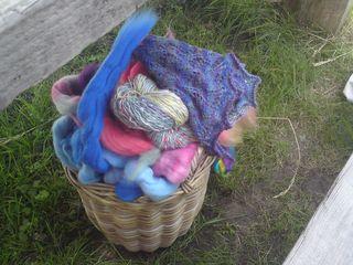 A basket of colour