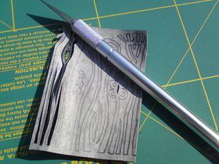 Cutting carefully