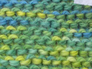 Blue and yellow makes green