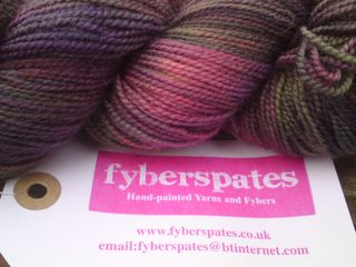Fyberspates sock yarn