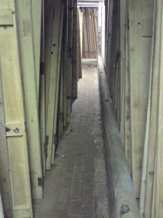 A corridor of doors