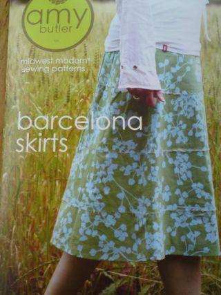 Barcelona Skirt pattern
