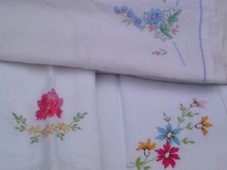 Detail of linens