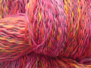 Green silk thread