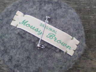 Back of fa brooch