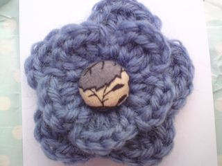 Crochet brooch gift
