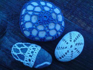 Crochet stone group 1