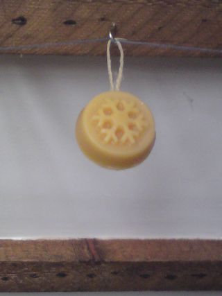 Beeswax ornament